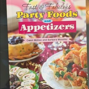 Party foods and appetizers Cookbook